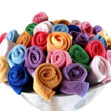 【8146-超细纤维35*75毛巾】 纯涤吸水毛巾批发 清洁擦车巾 干发巾