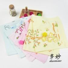 【6252-纯棉纱布童巾】吸水不掉毛 儿童毛巾