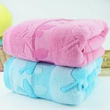 【6555-枫叶竹纤维浴巾】 高档浴巾  纯棉 竹纤维 加厚大浴巾