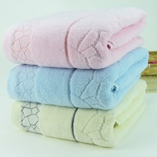 【6556-水立方浴巾】 高档浴巾 100%纯棉 超市专供 礼品浴巾