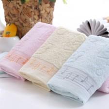 【6389-4  豹纹毛巾】100%棉 超柔面巾 礼品毛巾