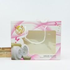 【4358-彩色家纺双条盒】双条包装盒 毛巾纸盒包装