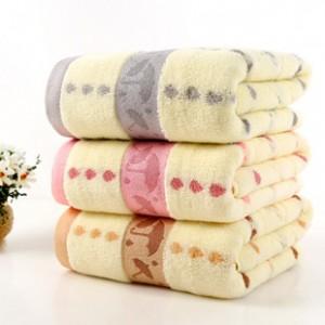 【6558-小雨伞浴巾】纯棉加厚超市特供浴巾
