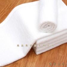 【BF2150-50克小方巾】酒店用白色方巾
