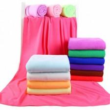【8238-涤锦70*140】超细纤维浴巾 超强吸水型 摆地摊热卖