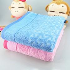 【6901-草莓单人毛巾被】加大加厚纯棉毛巾被