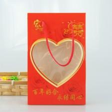 【4308-百年好合手提单条盒】单条盒 毛巾纸盒
