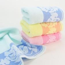 【6302-牡丹毛巾】32股纯棉面巾 超市福利特工 可定制