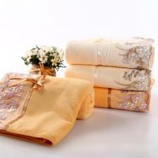 【8410-蕾丝刺绣浴巾】超细纤维 超柔超强吸水