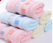 【6425 彩格毛巾】 100%纯棉毛巾 礼品赠品劳保必备