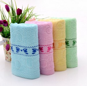 【6304 蝴蝶毛巾】纯棉毛巾 礼品毛巾 基督教专用