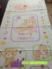 【6519-剑纹浴巾】100%棉纱布成人大浴巾 空调毯 婴儿浴巾 出口日本