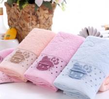 【6389-5 小猫头毛巾】 棉 超市必备 最新款