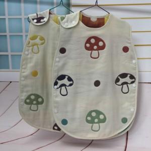 【6952 六层纱布儿童睡袋】 日本原单 儿童睡衣 A类标准
