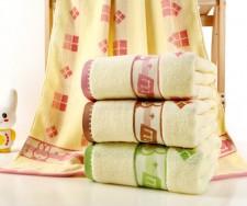 【6553 米菲兔纯棉浴巾】纯棉竹纤维加厚大浴巾 超市高端 礼品赠品