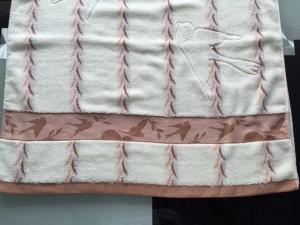 【6554 柳叶燕子浴巾】纯棉竹纤维加厚大浴巾 超市特供