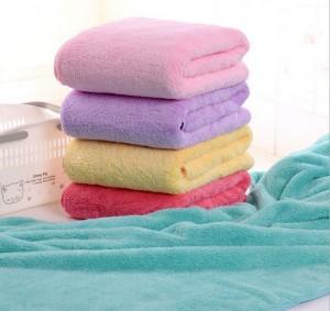 【9357-珊瑚绒浴巾】韩国巾 珊瑚绒超大 超柔 超强吸水 大浴巾 不掉毛