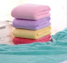 【9357-珊瑚绒浴巾】韩国巾 珊瑚绒超大 超柔 吸水 大浴巾 不掉毛