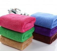 【9355-珊瑚绒30*70】韩国巾 吸水