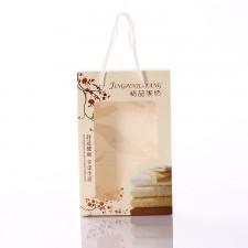 【4382-精品家纺手提单条盒】毛巾包装盒 单条装