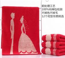 【3306-前处理纯棉32股新人毛巾】100%纯棉 不掉色 不掉毛 高档毛巾