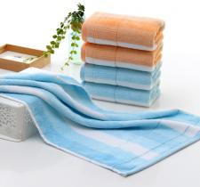 【6220-彩条割绒毛巾】厂家直销纯棉高档超市直供毛巾彩条割绒毛巾柔软吸水加厚特价