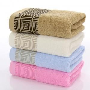 【7106-回字格32股毛巾】厂家批发 高阳毛巾 超市礼品 超强吸水舒适毛巾 纯棉面巾