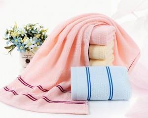 【6913-32股蜂窝纯棉毛巾】厂家直销 蜂窝断档柔软吸水面巾洗脸巾礼品劳保毛巾