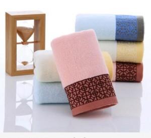 【6752-无捻菱形块毛巾】100%棉 超柔软吸水 礼品福利团购 高档纯棉系列