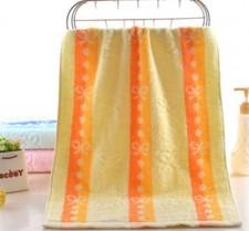 【6484-红丝带弱捻澡巾】纯棉毛巾厂家直销 吸水洗澡毛巾