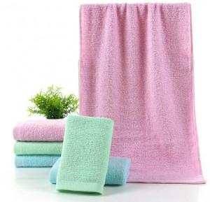 【6320-弱捻60克素色毛巾】厂家直销 60克素色纯棉毛巾 劳保福利专供