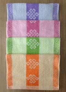 【6488-2-方块结弱捻澡巾】厂家直销 纯棉弱捻加大加长毛巾澡巾运动毛巾