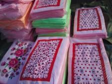 【6807-4-割绒印花超薄枕巾】厂家直销 纯棉割绒印花枕巾 学生  婚庆 回礼 劳保福利