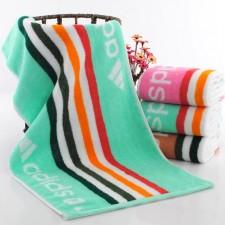 【5651-adidas纯棉毛巾】厂家直销 阿迪达斯毛巾运动毛巾超厚吸水 商超 福利专供