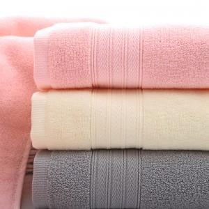 【8603】 人字纹断档浴巾